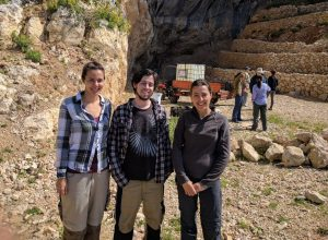 Carolina Mallol, Rory Connolly and Lucia Leierer